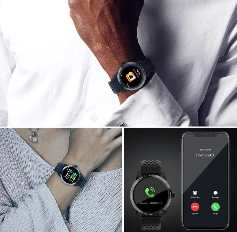 Smart watch T2, The latest waterproof sports smartwatch, IP67 img 4