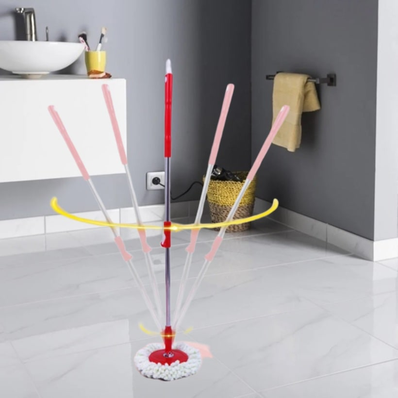 Magic 360° Spin Mop.