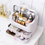 Dust-Proof Makeup Organizer - Pink