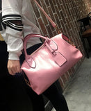 City Girl, Shoulder Bags, Pink Style