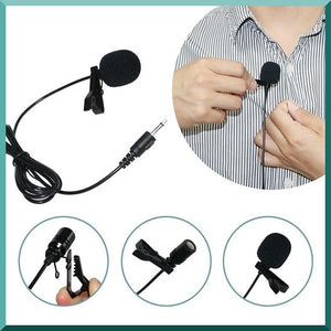 Lavalier, Vlogging Microphone.