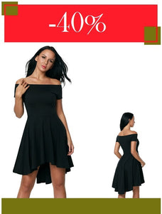 Elegant - Black Party Dresses