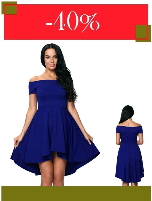 Elegant - Blue Party Dresses  (40% Off)