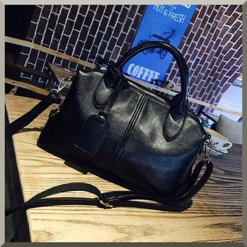 City Girl, Shoulder Bags, Black Style