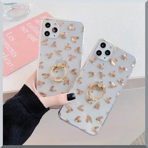 Heart 3D design , TPU cover phone cases for iphone 11 Pro.