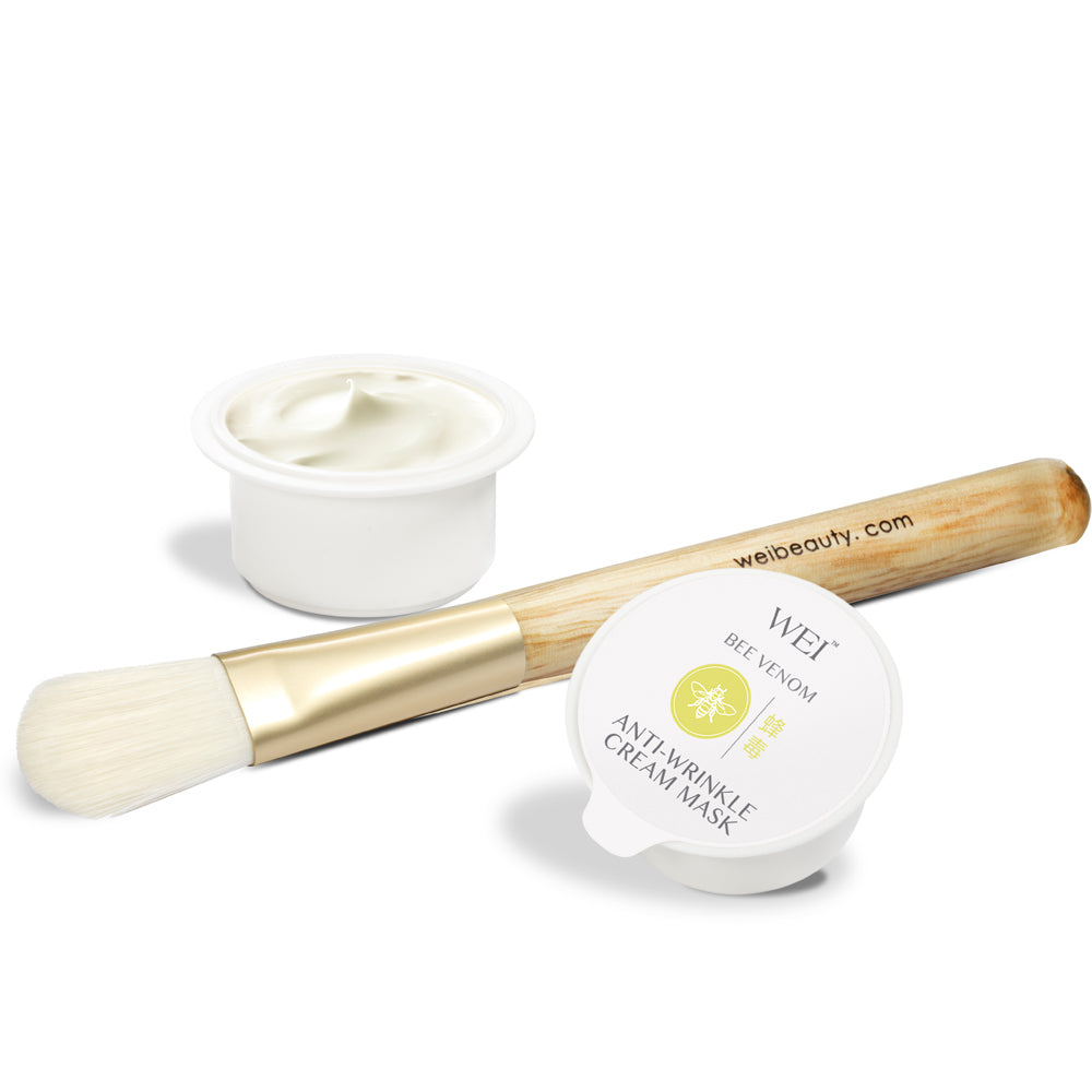 Bee Venom Anti-Wrinkle Cream Mask with brush applicator