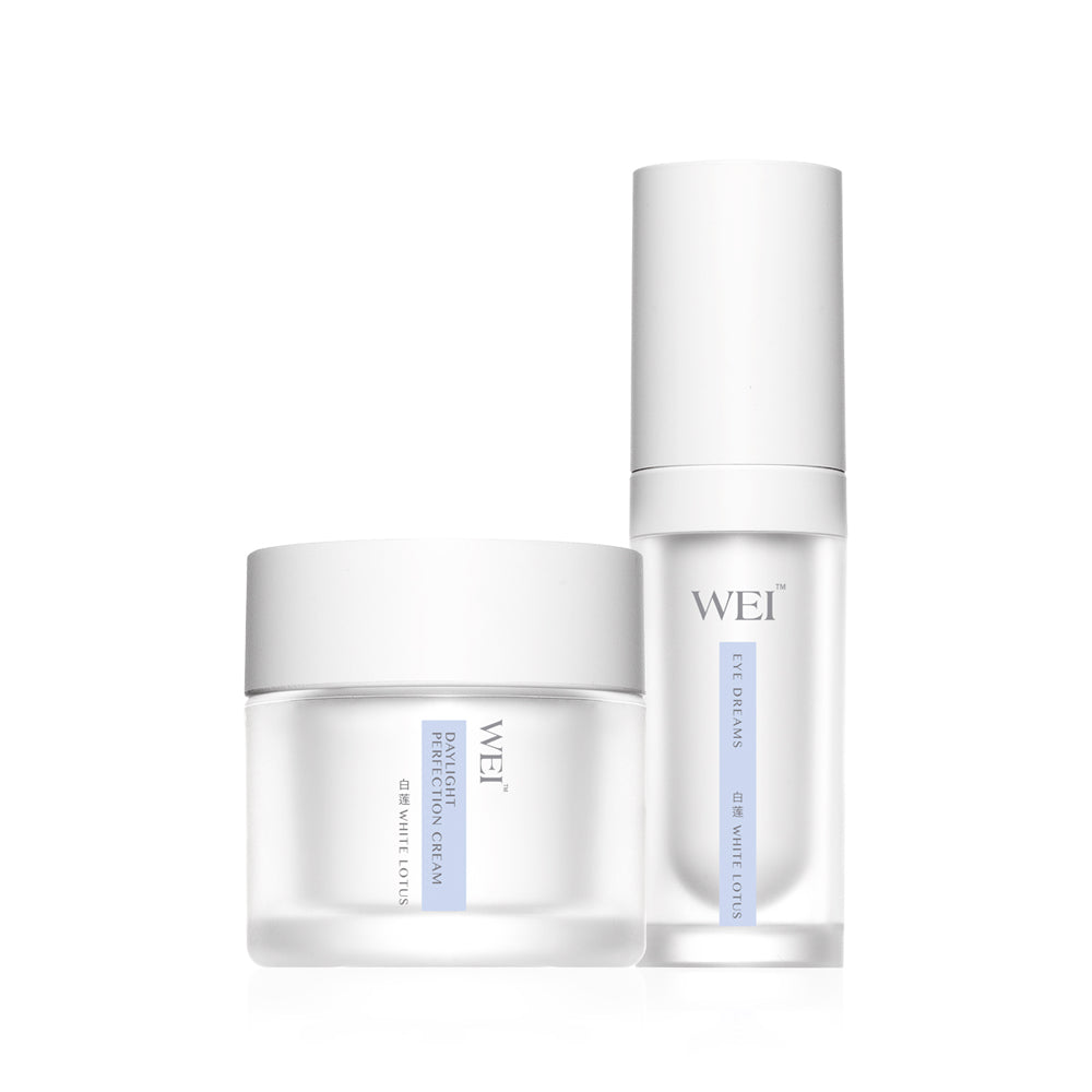White Lotus Hydration in Luxury Set