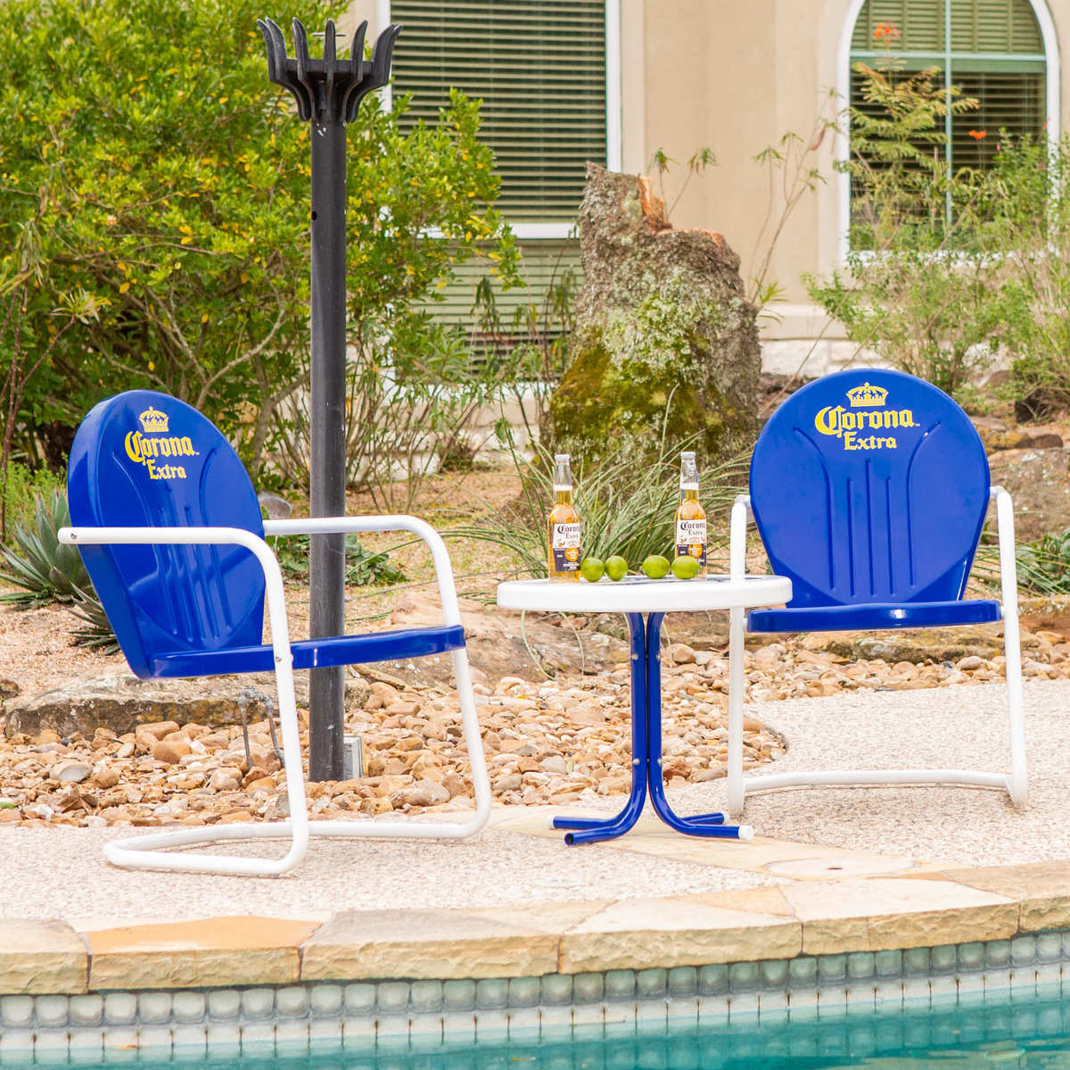 Corona Bistro Set by the Pool