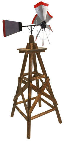 6.5 Ft. Char-Log Windmill - Windmill