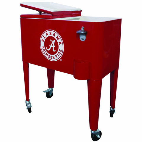 Alabama Crimson Tide 60qt. Rolling Cooler - Cooler