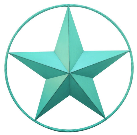 Aqua Star with Ring Wall Décor - Decor