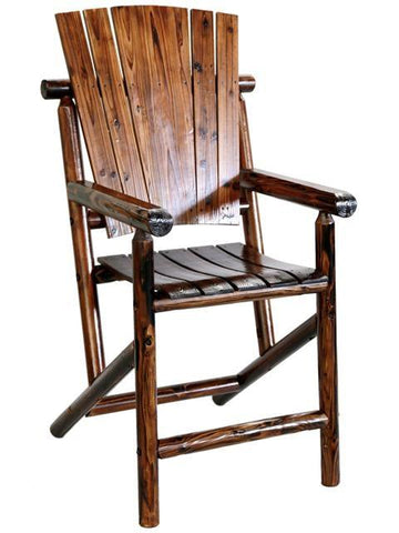Char-log Bar Arm Chair - Arm Chair
