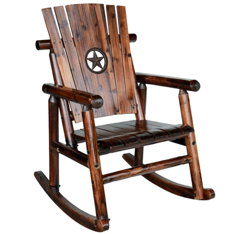 Char-log Rocker with Star Medallion - Limited Edition - Rocker