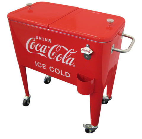 Coca-Cola® Retro ICE COLD 60 qt. Cooler - Cooler