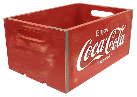 Coca-Cola® Vintage Wooden Crate - Large - Decor