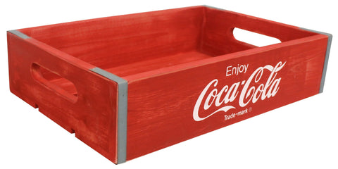 Coca-Cola® Vintage Wooden Crate - Medium - Decor
