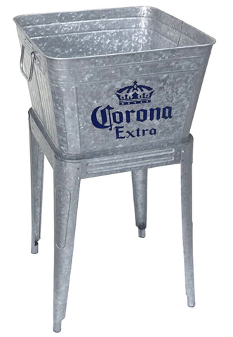 Corona Extra® Beverage Tub with Stand - Beverage Tub