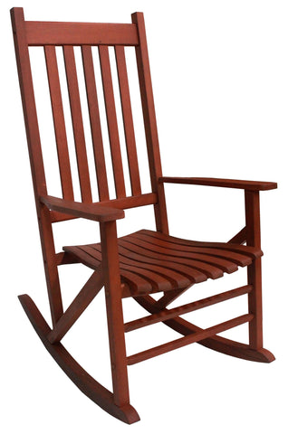 Heartland Stained 5 Slat Classic Rocker - Rocker