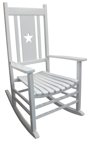Heartland White Star Porch Rocker - Porch Rocker