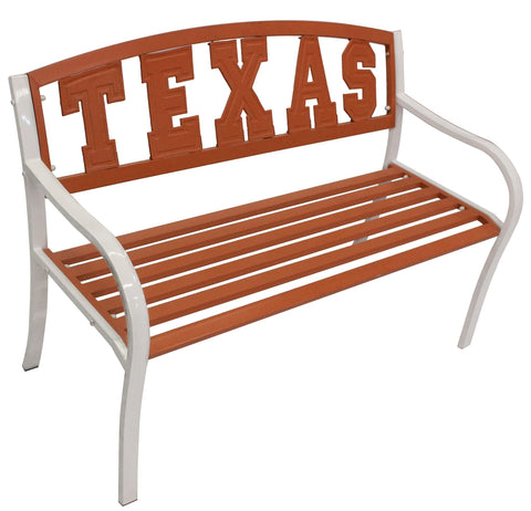 Longhorns TEXAS Metal Bench - Metal Bench