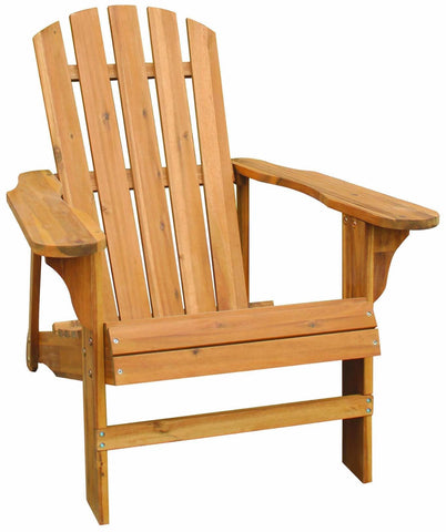 Natural Adirondack Chair - Adirondack Chair