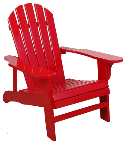 Red Adirondack Chair - Adirondack Chair