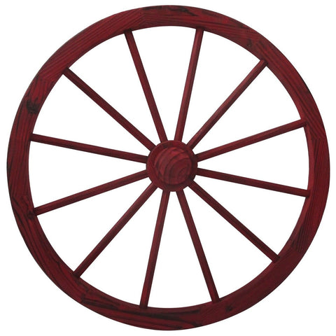 Red Wash Wagon Wheel - 30 - Wheel