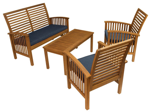 Sequoia 4 Piece Conversation Set - Set