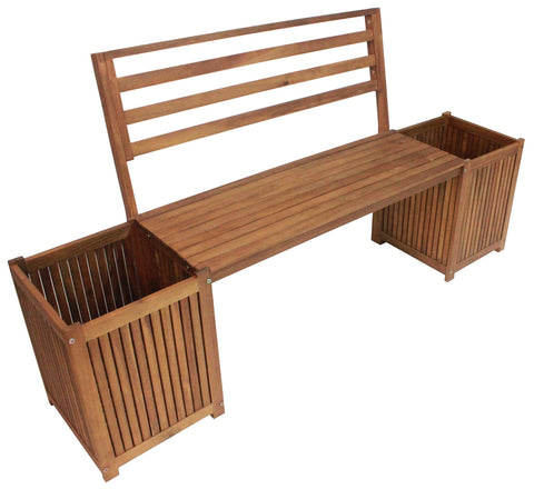 Sequoia Planters Bench - Bench