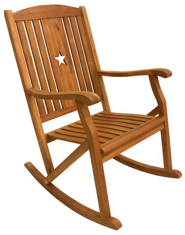 Sequoia Rocker w Star - Rocker