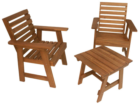 Sequoia Rustic Patio Set - Patio Set