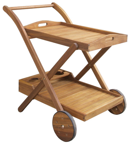 Sequoia Serving Cart with Tray - Serving Cart