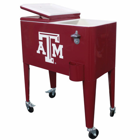 Texas A&M 60qt. Rolling Cooler - Cooler