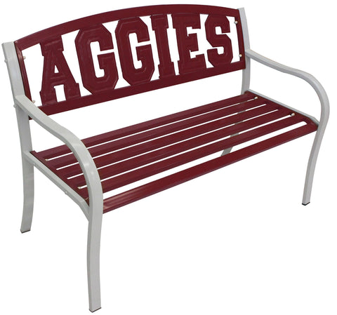 Texas A&M AGGIES Metal Bench - Metal Bench
