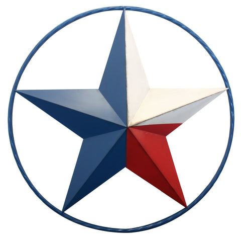 Texas Flag Star Wall Décor - Decor