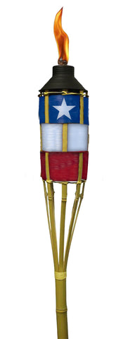 Texas Flag Yard Torch - Decor