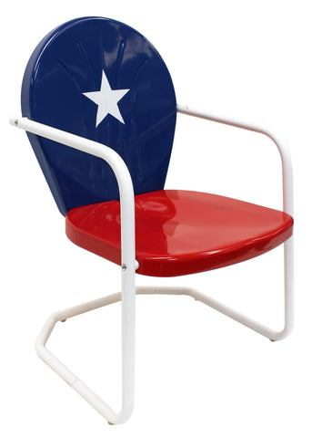 Texas Retro Metal Chair - Chair