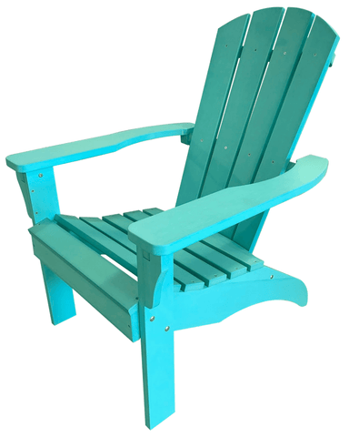 Turquoise Poly Resin Adirondack Chair - Adirondack Chair
