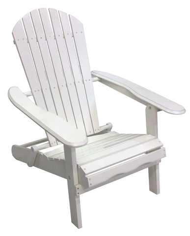White Folding Adirondack - Adirondack Chair