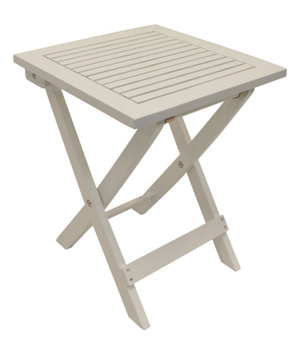 White Folding Adirondack Side Table - End Table