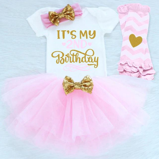 4cd69dd4f381a Sweet 2nd Birthday Tutu Set – Paisley's Palace