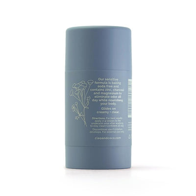 Sensitive Blue Tansy Charcoal Deodorant