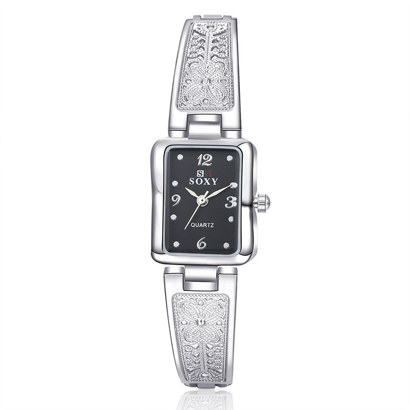 SOXY Bracelet Watch Fashion Silver Women'S Watches Ladies Watch