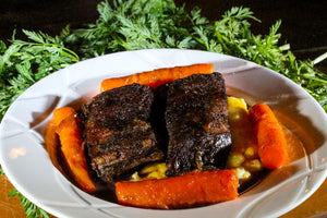 two english cut short ribs