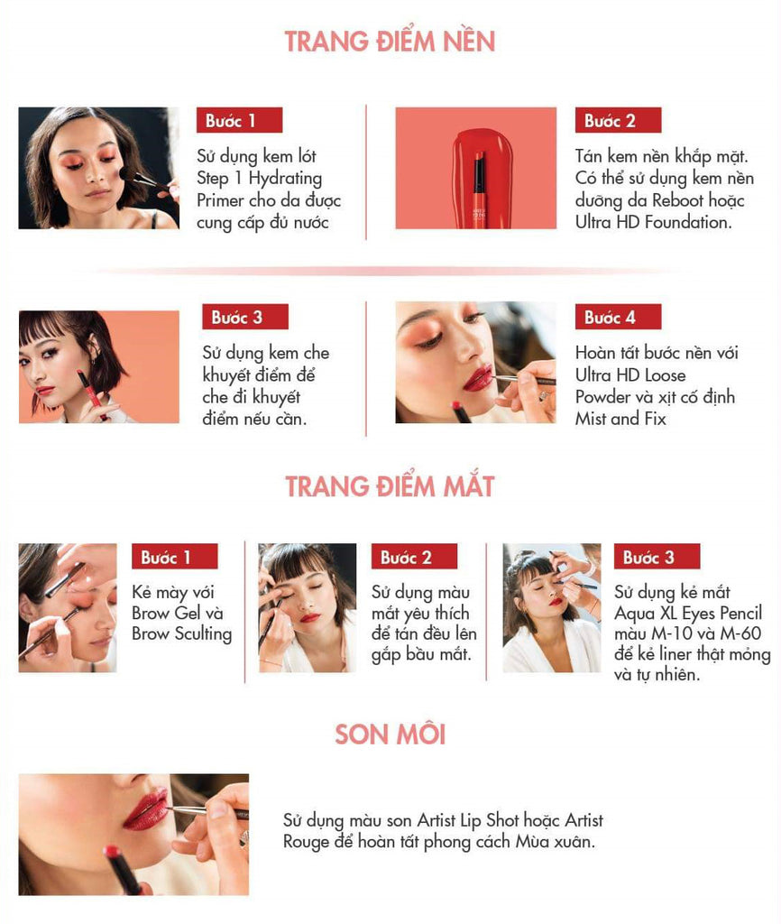 Fresh Cherry Look Tutorials