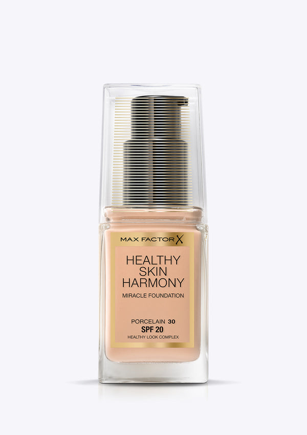 MAX FACTOR<br>HEALTHY SKIN HARMONY<br>Miracle Foundation
