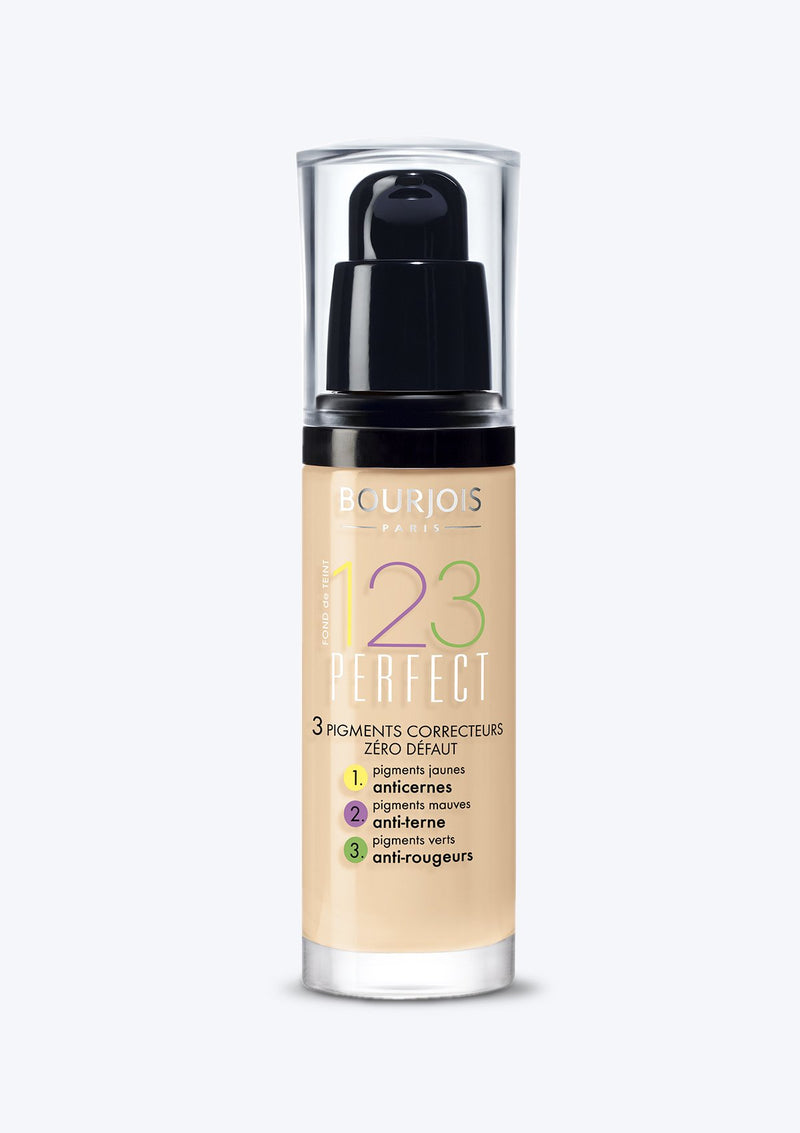 BOURJOIS <br>123 PERFECT FOUNDATION