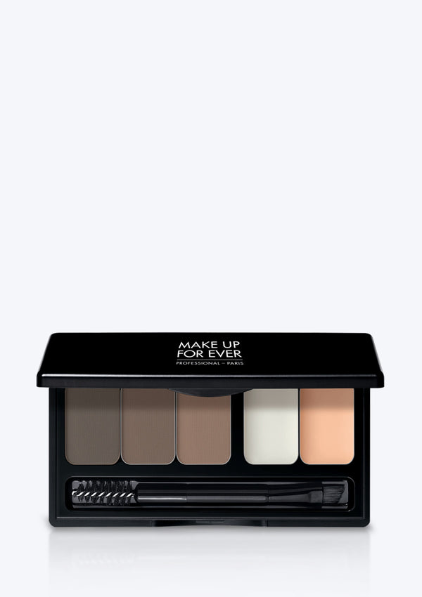 MAKE UP FOR EVER <br> PRO SCULPTING BROW PALLETE HARMONY