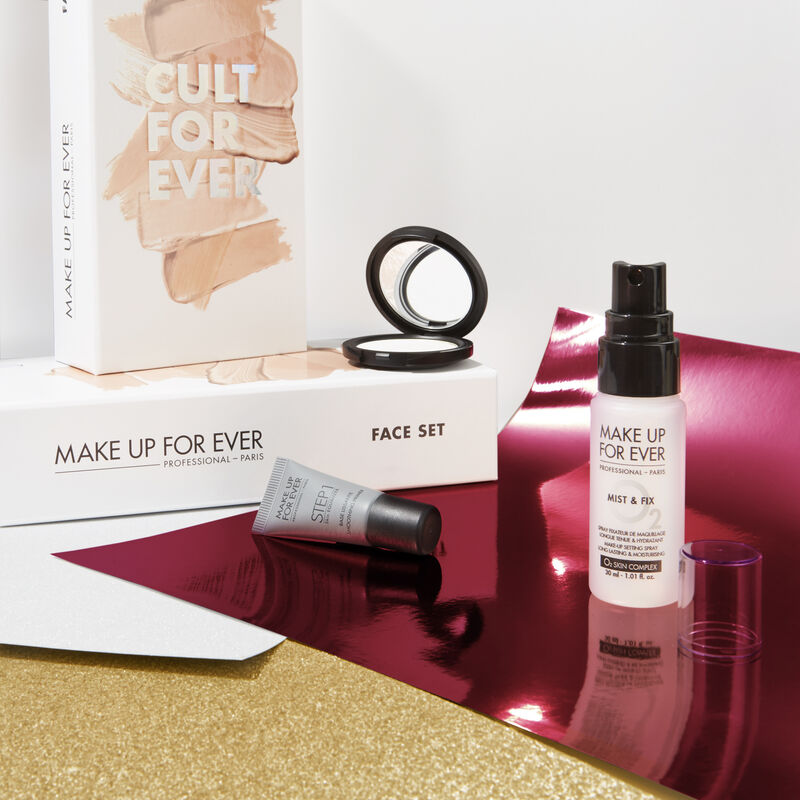MAKE UP FOR EVER<br>CULT FOR EVER<br>( Face Set) (5438934941846)