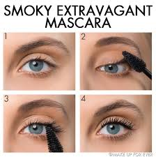 Make Up For EVer Aqua Smoky Wtp Mascara Extravagant 7ml Black